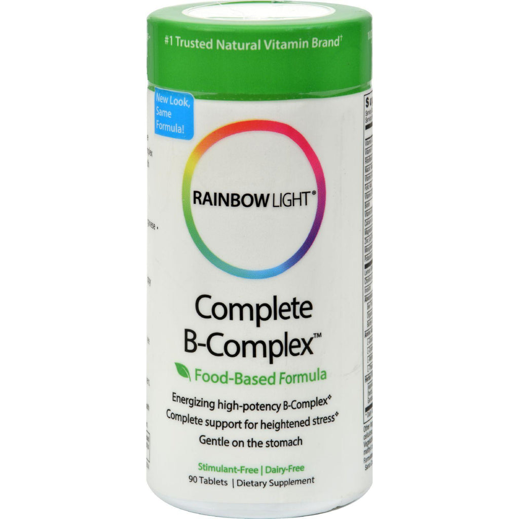 Rainbow Light Complete B-complex - 90 Tablets-Rainbow Light-pantryperks