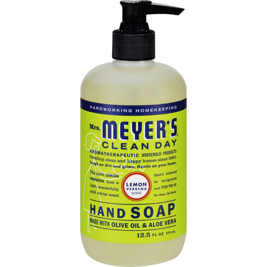 Mrs. Meyer's Clean Day Liquid Hand Soap - Lemon Verbena - 12.5 fl oz-Mrs. Meyer's-pantryperks