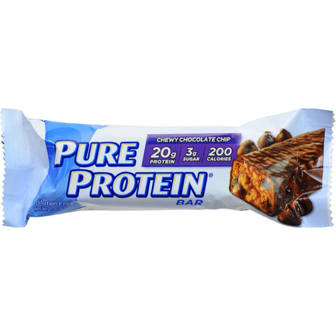 Pure Protein Bar - Chocolate Chip - Case Of 6 - 50 Grams-Pure Protein-pantryperks