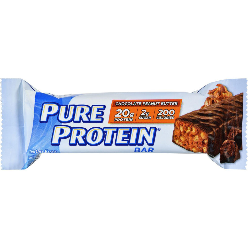 Pure Protein Bar - Peanut Butter - Case Of 6 - 50 Grams-Pure Protein-pantryperks