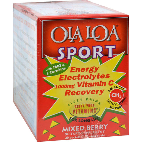 Ola Loa Sport Drink Mix - Mixed Berry - 30 Count-Ola Loa Products-pantryperks