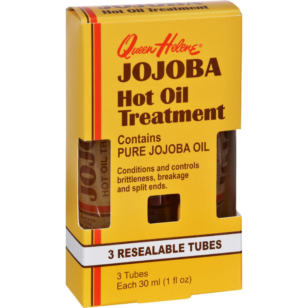 Queen Helene Jojoba Hot Oil Treatment - 1 Fl Oz-Queen Helene-pantryperks