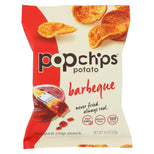 Popchips Gluten Free Popped Potato Chips Barbeque - 0.8 oz-Popchips-pantryperks