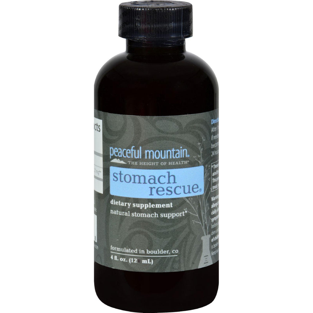 Peaceful Mountain Stomach Rescue - 4 fl oz-Peaceful Mountain-pantryperks