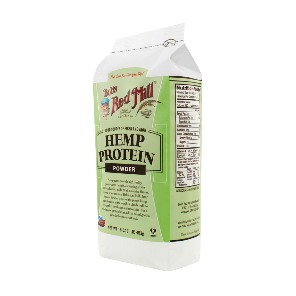 Bob's Red Mill Hemp Protein Powder - 16 Oz - Case Of 4-Bob's Red Mill-pantryperks