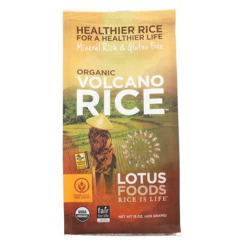 Lotus Foods Organic Volcano Rice - 15 oz-Lotus Foods-pantryperks