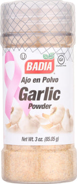 Badia Spices Garlic Powder - Case Of 12 - 3 Oz.-Badia Spices-pantryperks
