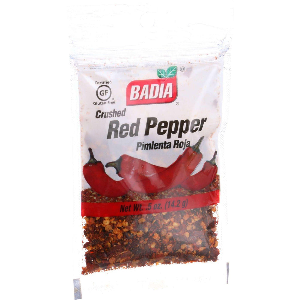 Badia Spices Red Pepper - Crushed - .5 Oz - Case Of 12-Badia Spices-pantryperks