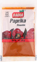 Badia Spices Paprika - Case Of 12 - 1 Oz.-Badia Spices-pantryperks