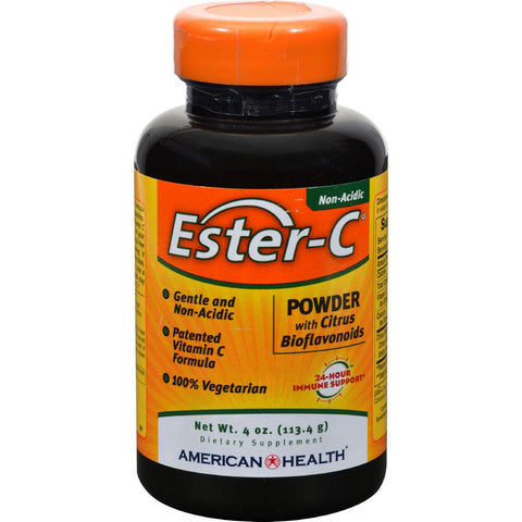 American Health Ester-c Powder With Citrus Bioflavonoids - 4 Oz-American Health-pantryperks
