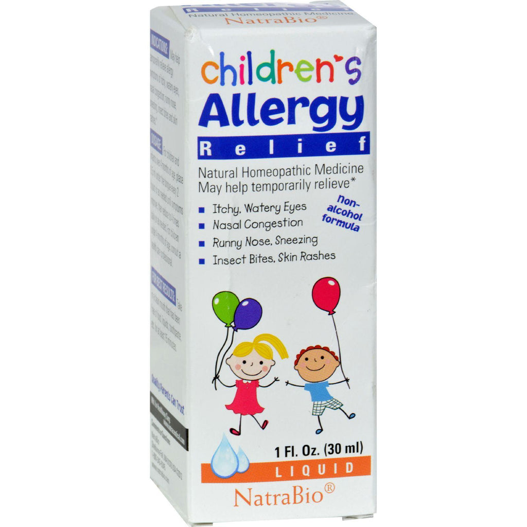 Natrabio Children's Allergy Relief - 1 Fl Oz-Natrabio-pantryperks