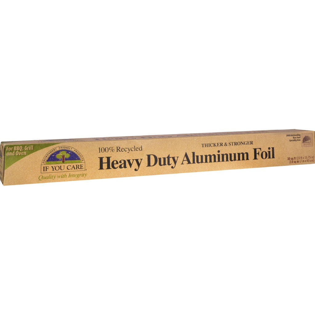 If You Care Heavy Duty Aluminum Foil - 30 Sq Ft Roll-If You Care-pantryperks