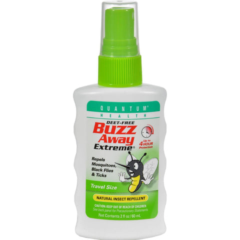 Quantum Buzz Away Extreme Insect Repellent Travel Size - 2 fl oz-Quantum Research-pantryperks