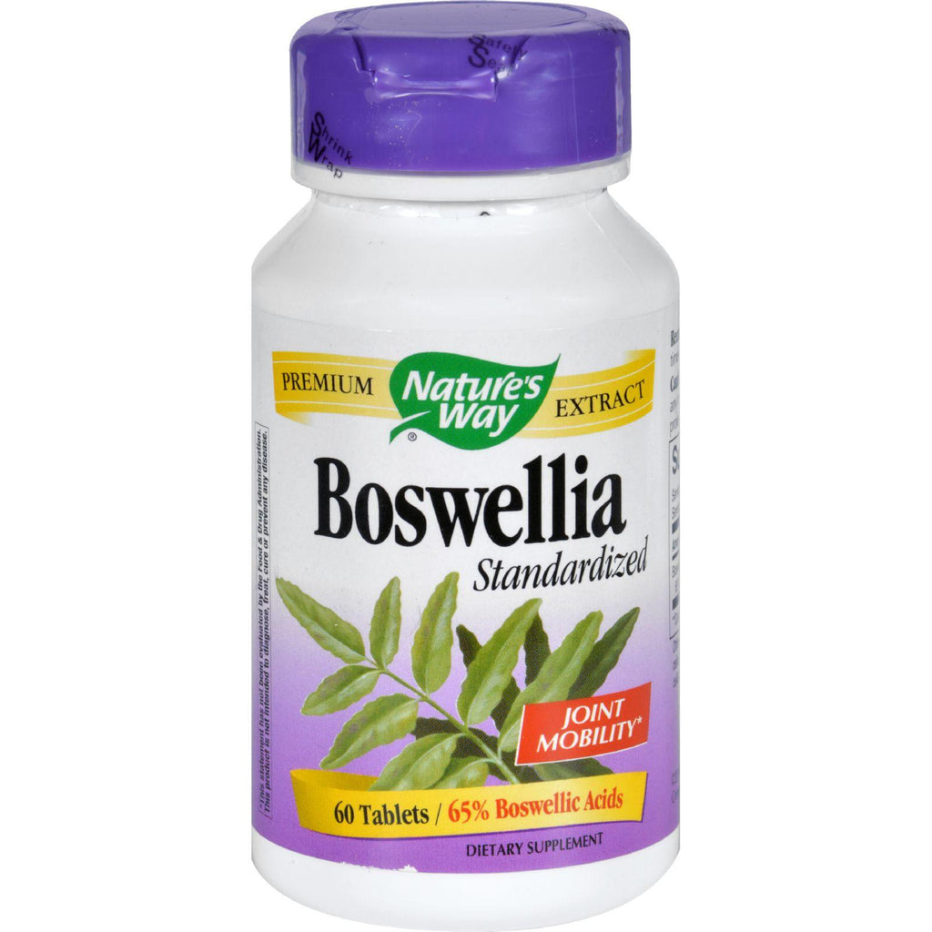 Nature's Way Boswellia Standardized - 60 Tablets-Nature's Way-pantryperks