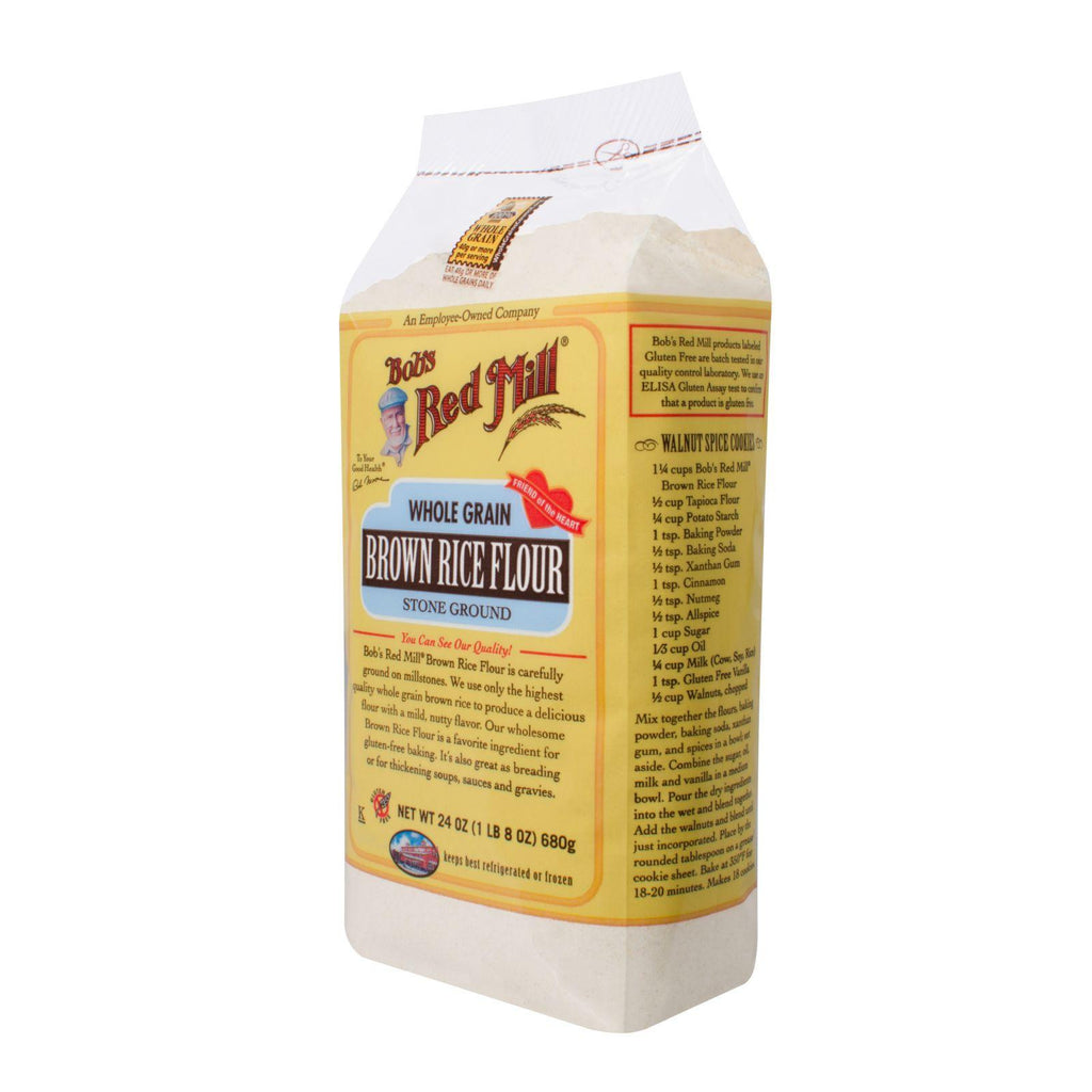 Bob's Red Mill Whole Grain Brown Rice Flour - 24 oz-Bob's Red Mill-pantryperks