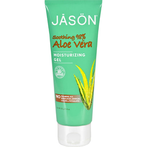 Jason Soothing 98% Aloe Vera Moisturizing Gel - 4 Oz-Jason Natural Products-pantryperks