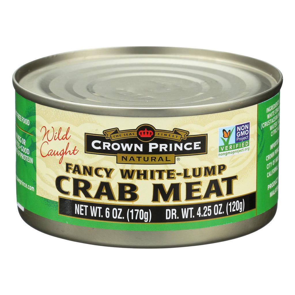 Crown Prince Fancy White Crab Meat - 6 oz-Crown Prince-pantryperks