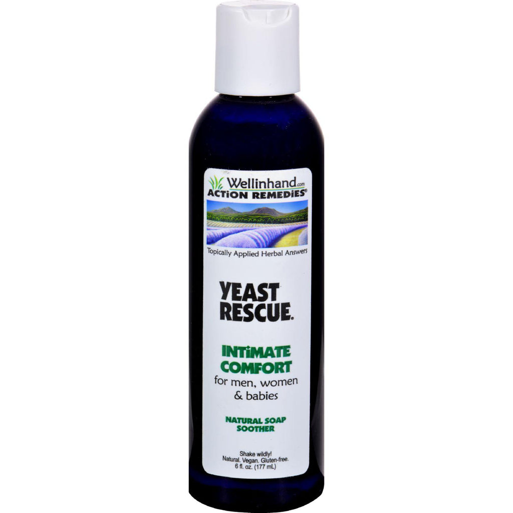 Wellinhand Yeast Rescue Soap - 6 Fl Oz-Wellinhand Action Remedies-pantryperks