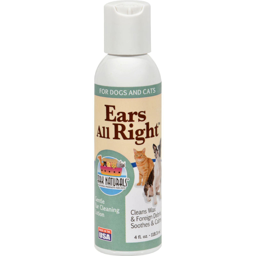 Ark Naturals Ears All Right Cleaning Lotion - 4 Fl Oz-Ark Naturals-pantryperks