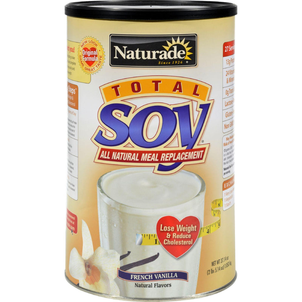 Naturade Total Soy Meal Replacement French Vanilla - 2 Lbs-Naturade-pantryperks