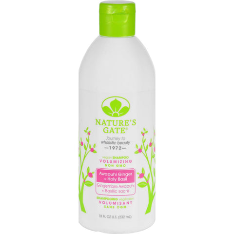 Nature's Gate Volumizing Shampoo Awapuhi + Holy Basil - 18 fl oz-Nature's Gate-pantryperks