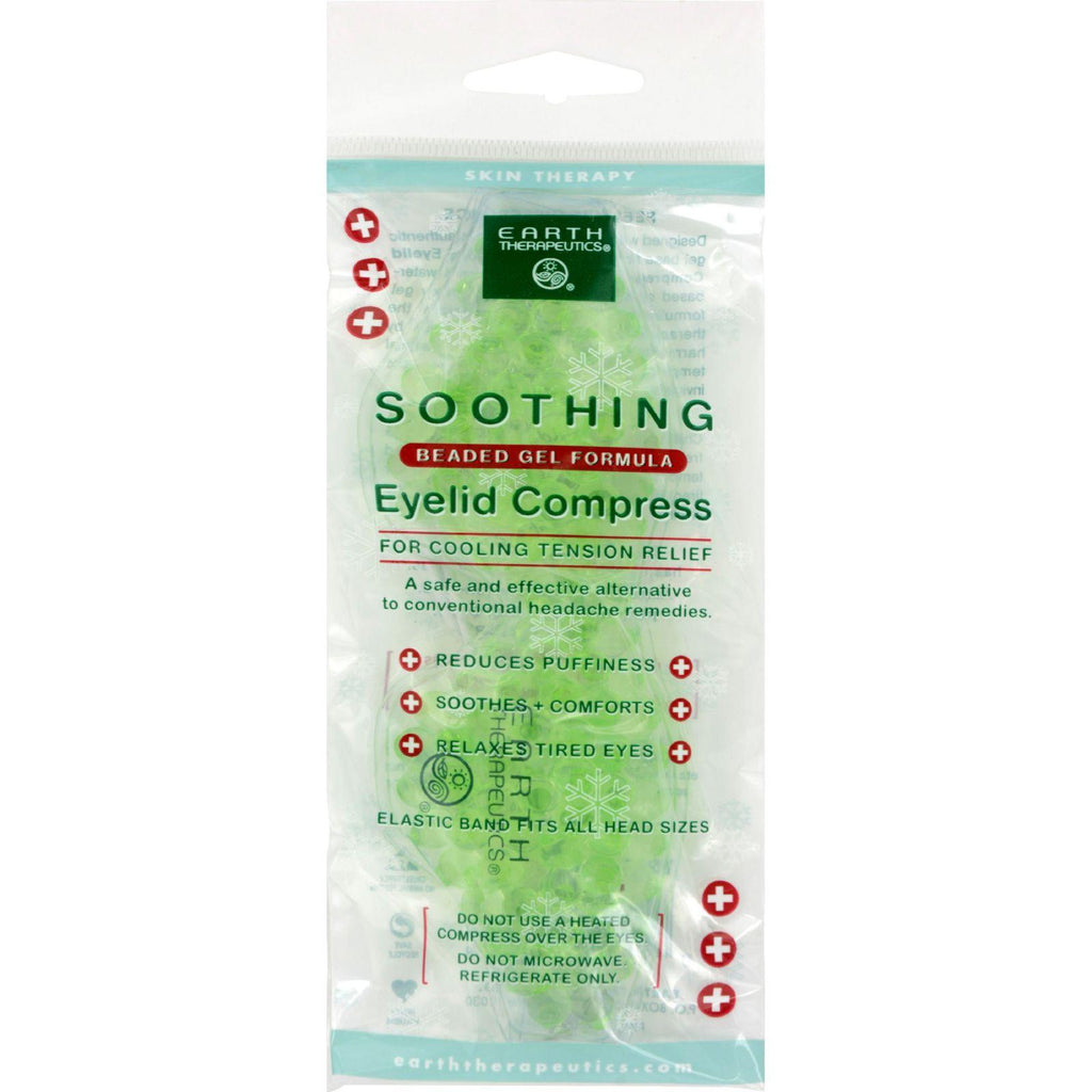 Earth Therapeutics Soothing Eyelid Compress - 1 Unit-Earth Therapeutics-pantryperks