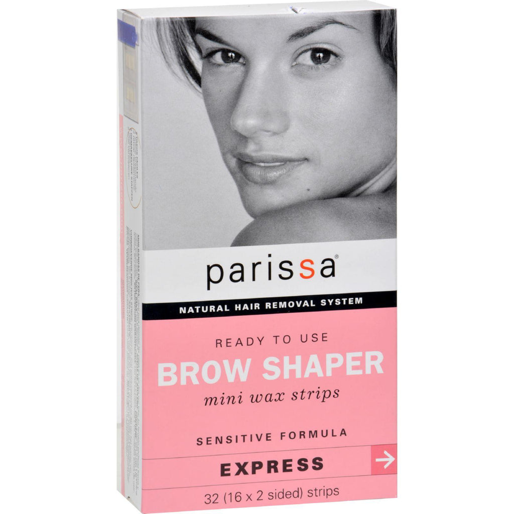 Parissa Natural Hair Removal System Brow Shaper - 32 Strips-Parissa-pantryperks