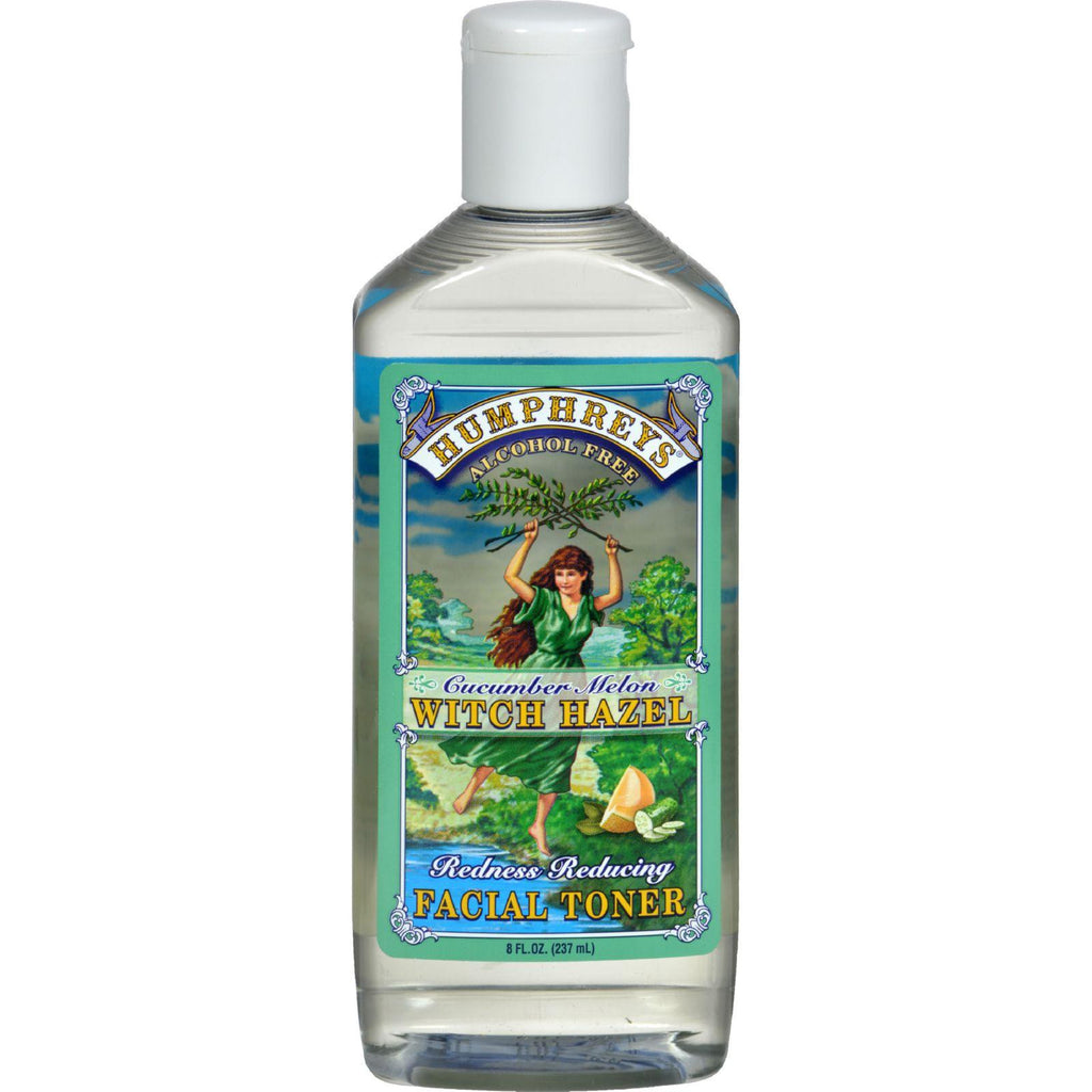 Humphrey's Homeopathic Remedy Witch Hazel Facial Toner Cucumber Melon - 8 fl oz-Humphrey's Homeopathic Remedies-pantryperks