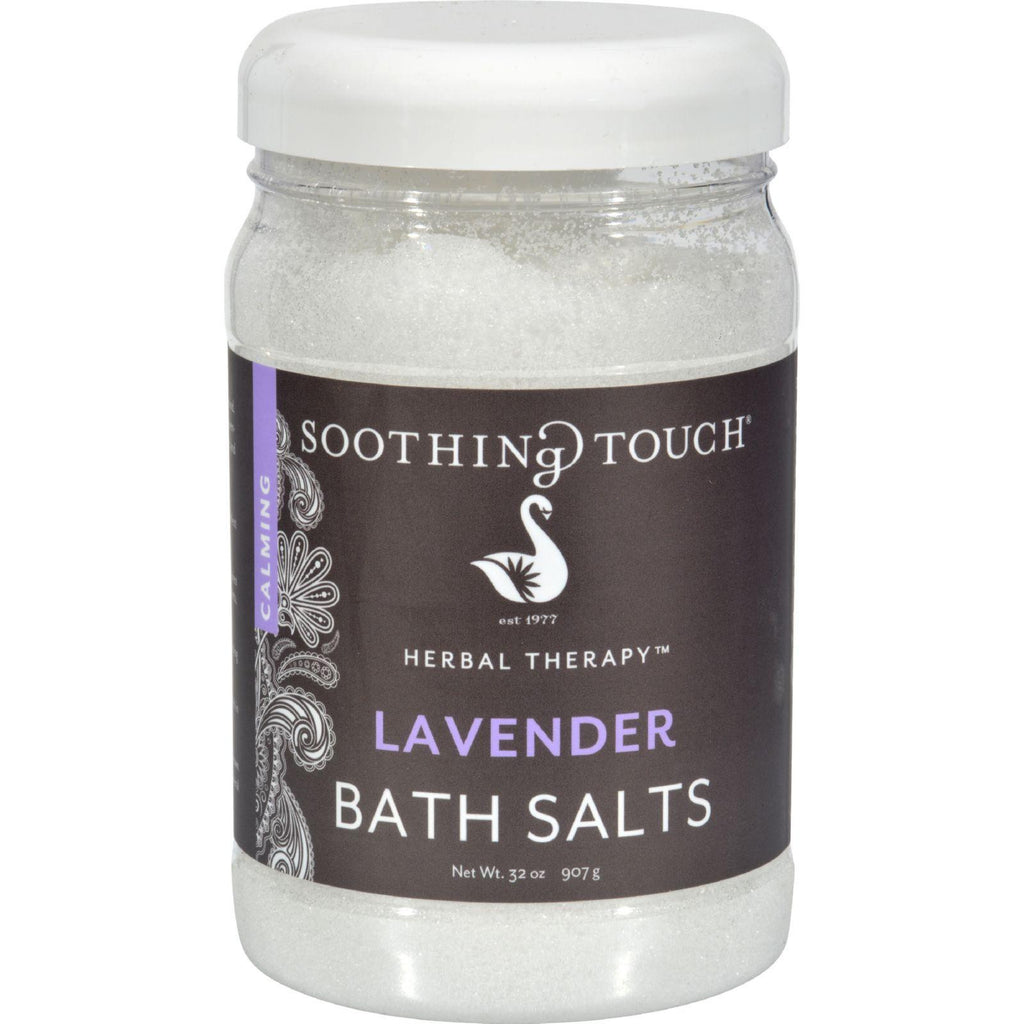 Soothing Touch Bath Salts - Lavender - 32 Oz-Soothing Touch-pantryperks