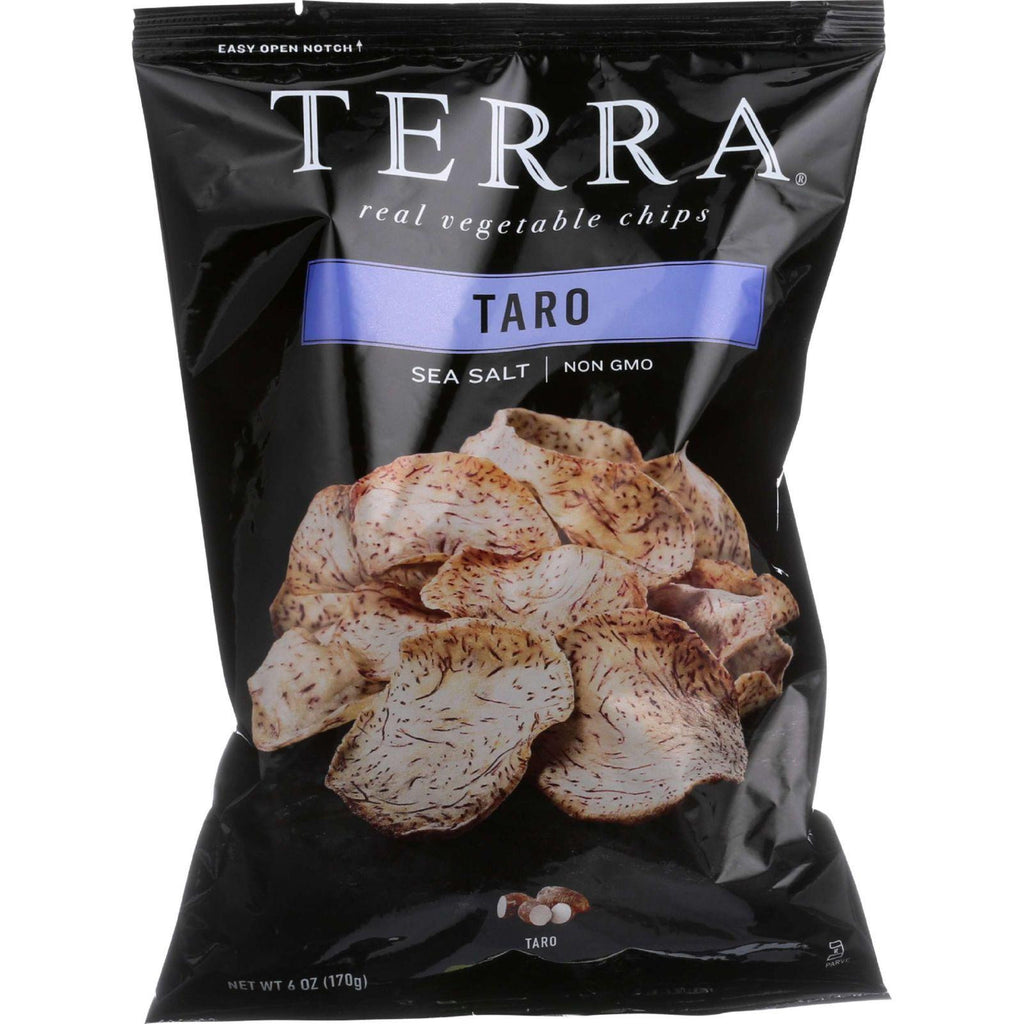 Terra Real Vegetable Chips Taro Sea Salt - 6 oz-Terra Chips-pantryperks