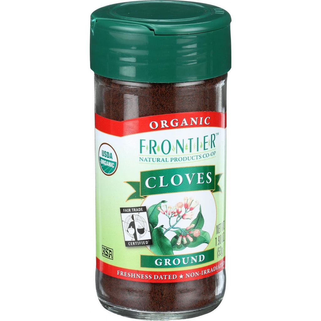 Frontier Herb Cloves - Organic - Fair Trade Certified - Ground - 1.9 Oz-Frontier Herb-pantryperks