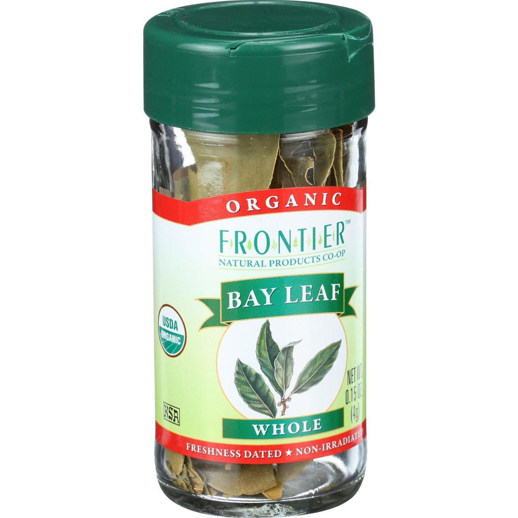 Frontier Co-Op Organic Bay Leaf Whole - 0.15 oz-Frontier Herb-pantryperks
