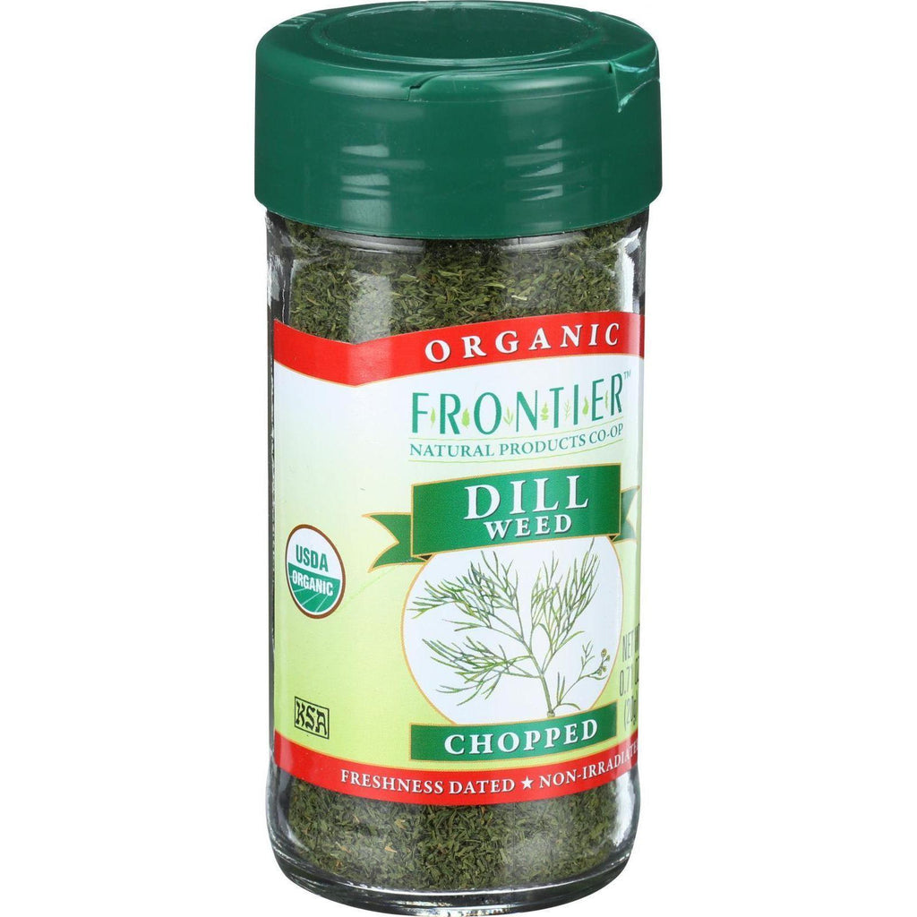 Frontier Co-Op Organic Dill Weed Chopped - 0.64 oz-Frontier Herb-pantryperks