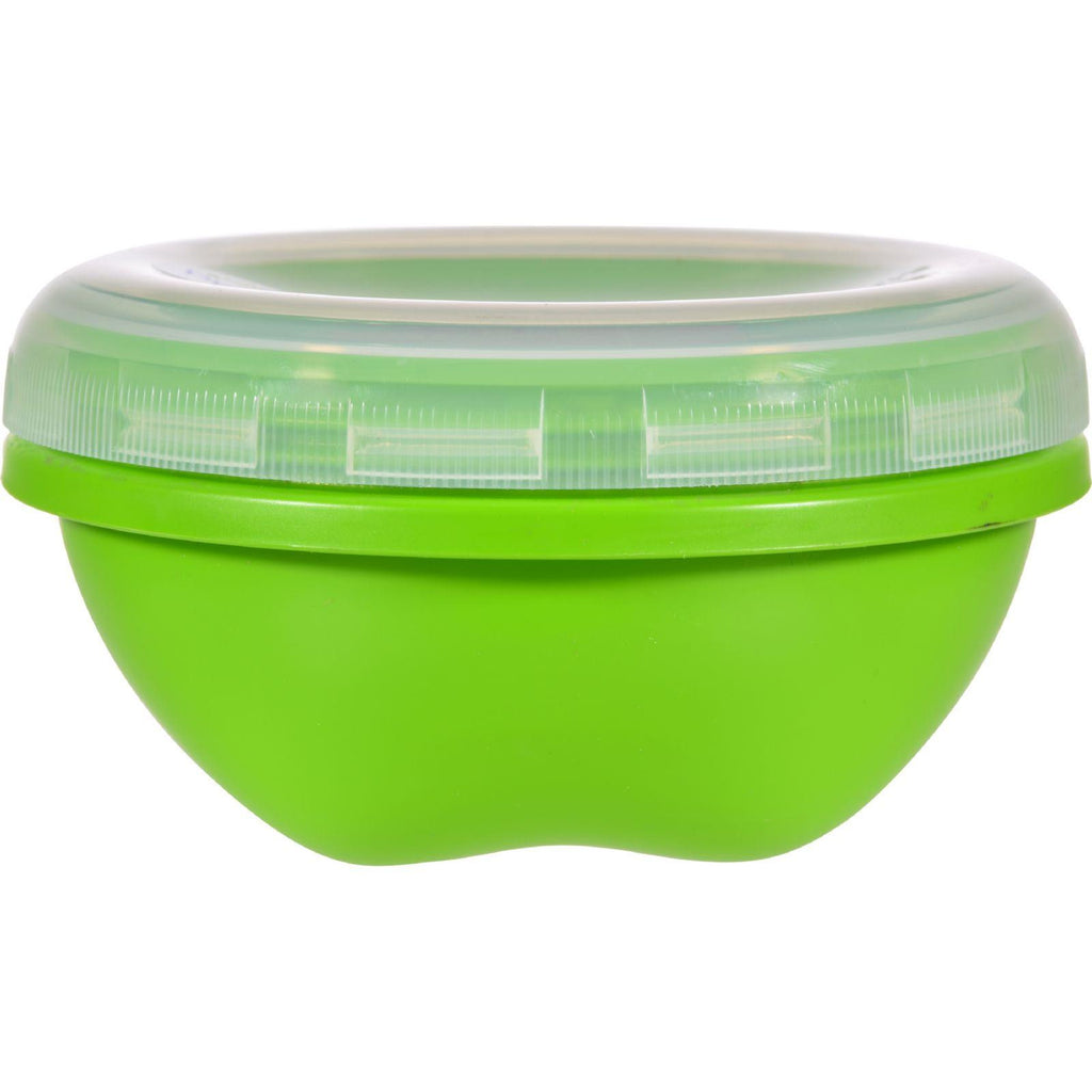 Preserve Food Storage Container - Round - Small - Apple Green - 19 Oz - Case Of 12-Preserve-pantryperks