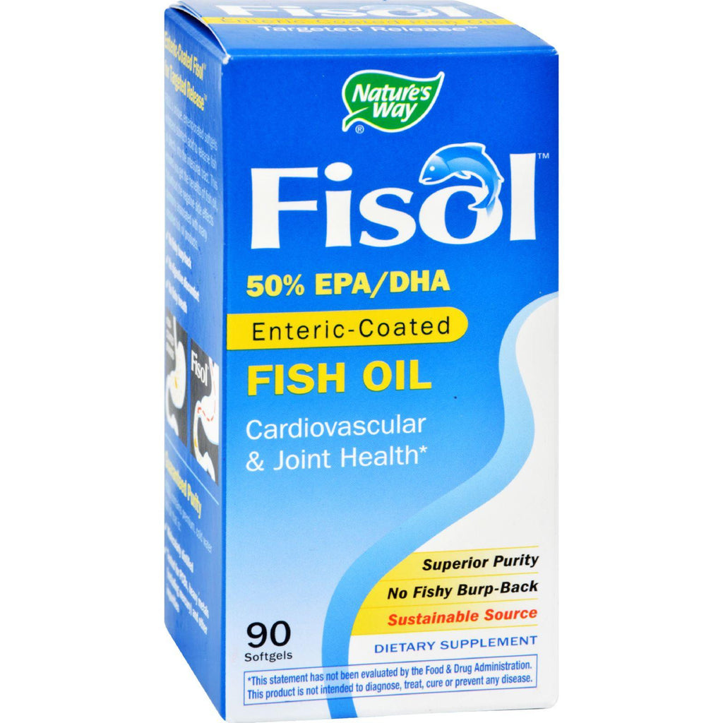 Nature's Way Fisol Fish Oil - 90 Softgels-Nature's Way-pantryperks