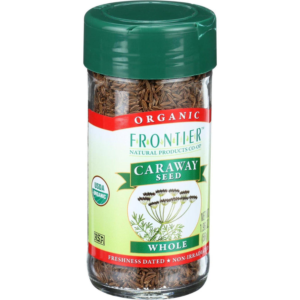 Frontier Herb Caraway Seed - Organic - Whole - 1.96 Oz-Frontier Herb-pantryperks