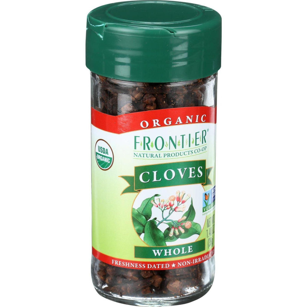 Frontier Herb Cloves - Organic - Whole - 1.40 Oz-Frontier Herb-pantryperks