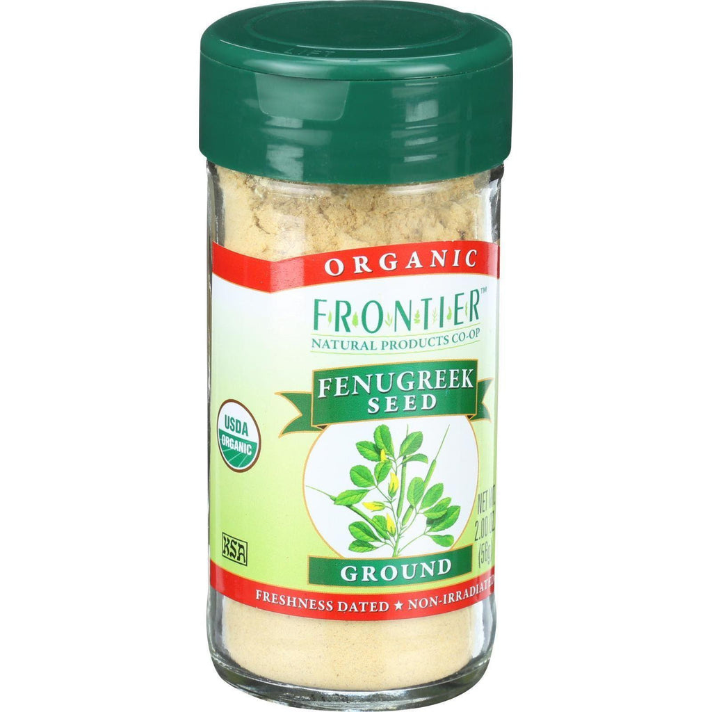 Frontier Herb Fenugreek Seed - Organic - Ground - 2.24 Oz-Frontier Herb-pantryperks