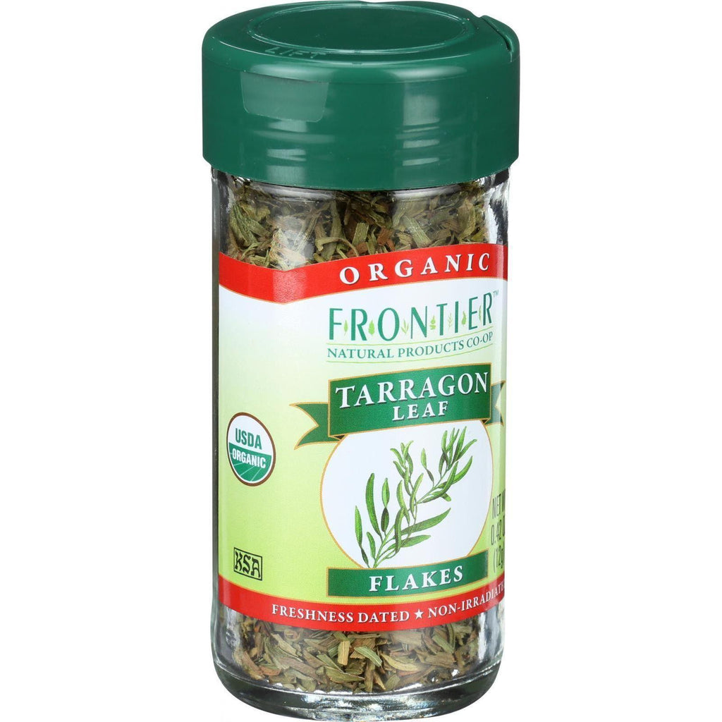 Frontier Herb Tarragon Leaf - Organic - Cut And Sifted - .42 Oz-Frontier Herb-pantryperks
