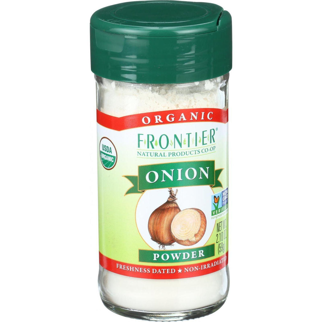 Frontier Co-Op Organic Onion Powder - 2.1 oz-Frontier Herb-pantryperks