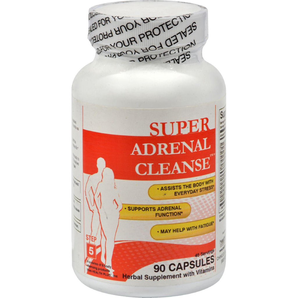 Health Plus Adrenal Cleanse - 90 Capsules-Health Plus-pantryperks