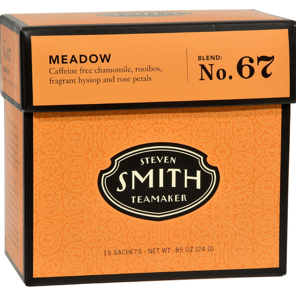 Smith Teamaker Herbal Tea - Meadow - Case Of 6 - 15 Bags-Smith Teamaker-pantryperks