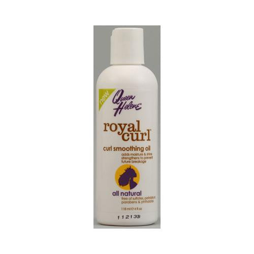 Queen Helene Royal Curl Curl Smoothing Oil - 4 Fl Oz-Queen Helene-pantryperks