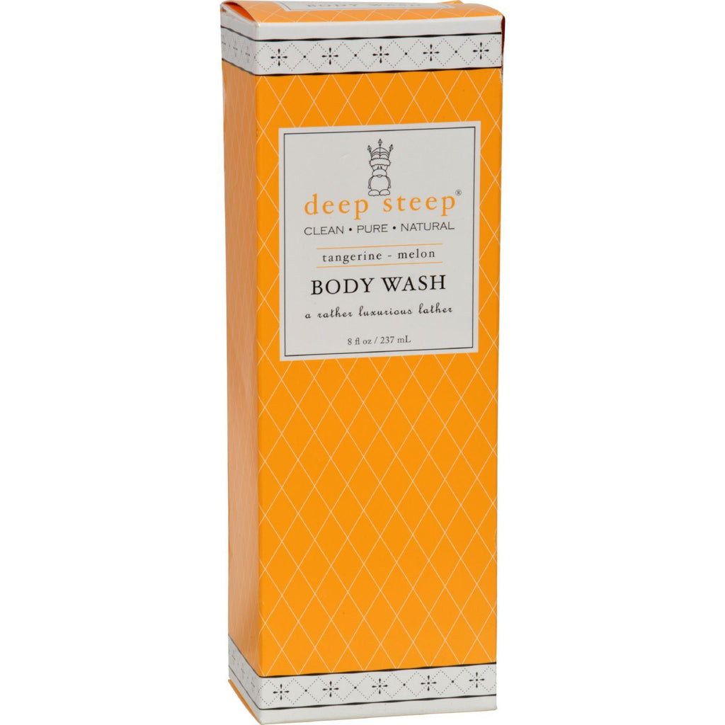 Deep Steep Body Wash Tangerine Melon - 8 Fl Oz-Deep Steep-pantryperks