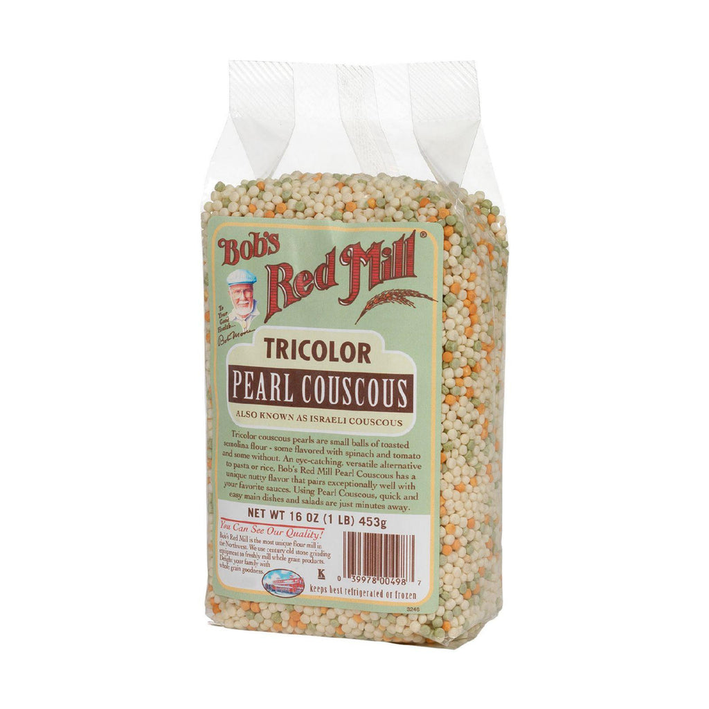 Bob's Red Mill Tricolor Pearl Couscous - 16 oz-Bob's Red Mill-pantryperks