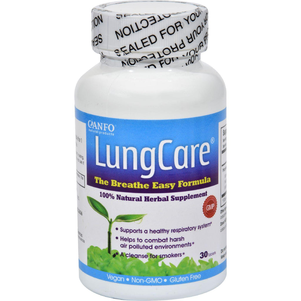 Canfo Natural Products Lungcare - 30 Tablets-Canfo Natural Products-pantryperks