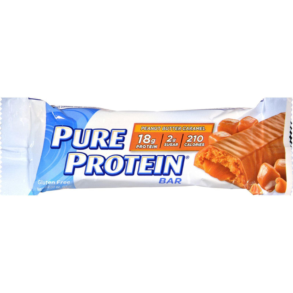 Pure Protein Bar - Peanut Butter Caramel Surprise - 50 Grm - Case Of 6-Pure Protein-pantryperks