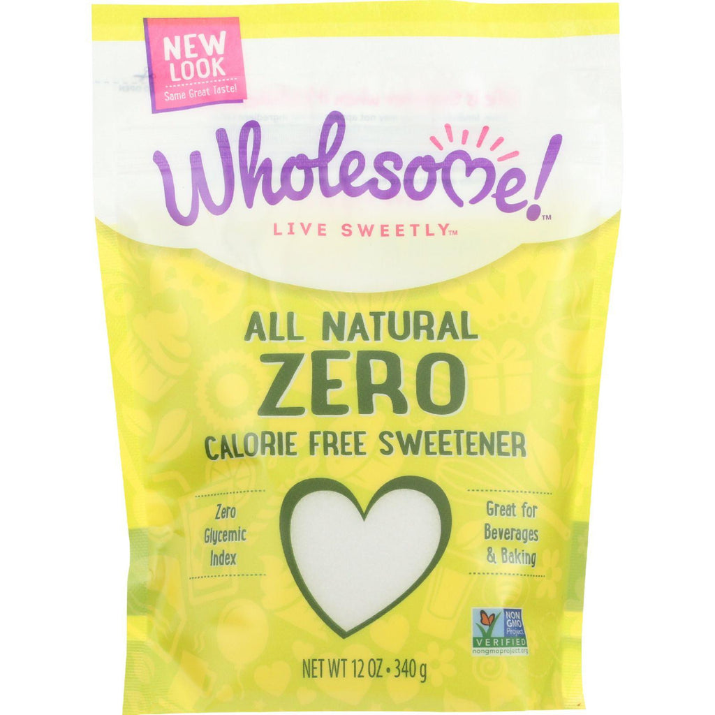 Wholesome Sweeteners Zero All Natural Calorie Free Sweetener - 12 oz-Wholesome Sweeteners-pantryperks