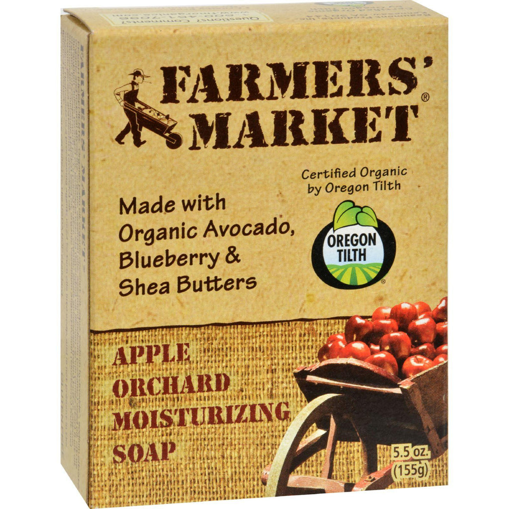 Farmer's Market Natural Bar Soap Apple Orchard - 5.5 Oz-Farmer's Market-pantryperks