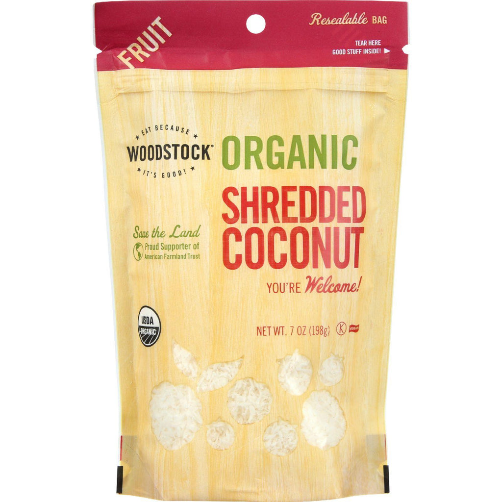 Woodstock Organic Shredded Coconut - 7 oz-Woodstock-pantryperks